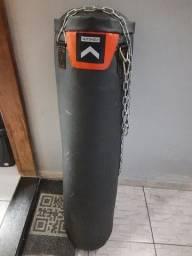 Saco Pancada 30kg Outshock TB1200 30kg mais Luva de Boxe 10oz