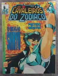 Revista N° 9 Pôster Cavaleiros do Zodíaco (Ano 1994)