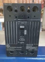 Disjuntor General Electric Ge Nema 120A (120 Amperes) Tripolar