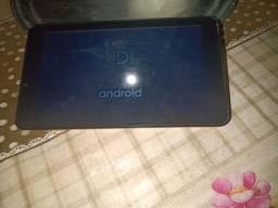 Tablet marca DL pouco tempo de uso