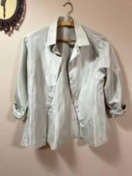 Camisa Social feminina de cetim
