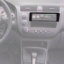 Painel do Som 1 Din Honda Civic