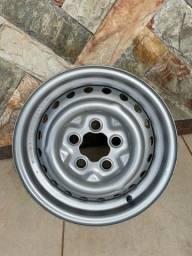 Rodas de ferro original, VW Kombi, 5 furos.