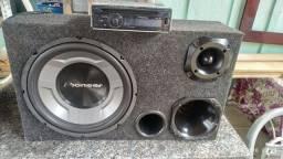 Pra vender hoje...Pionner 3050usb + Box Trio pionner