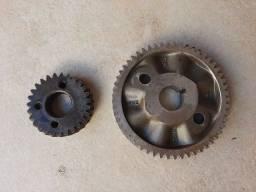 Engrenagem de alumínio original GM comando opala