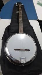 Banjo contry 5 string ibanez antigo