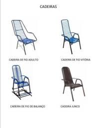 Cadeiras de fio