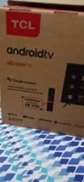 Smart Tv 32 Polegadas Android Nova com nota Fiscal