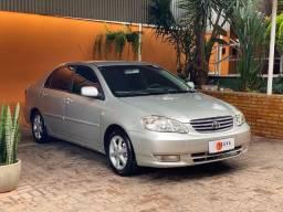 Toyota Corolla XEi 1.8 Manual 2003 com 250.000 Km, financiamos, oportunidade!