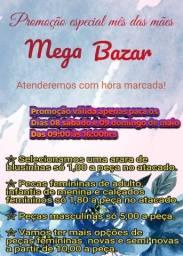Bazar Dias 08 e 09 de maio