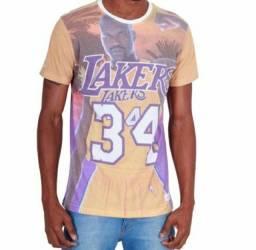 2 camisetas da NBA oficial