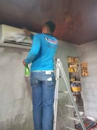 Refrigeração limpeza instalação manutenção serviços em domicílio