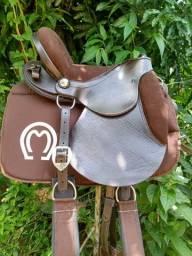 Cela de Cavalo Marrom Coqueluche Barata + Traia Mangalarga