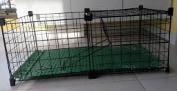 Cercado aramado para porquinhos-da-índia - 2 andares