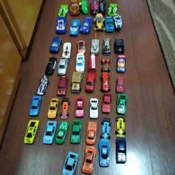 coleção 48 carrinhos hot wheels