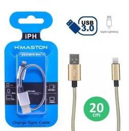 Cabo de Dados e carregamento Iphone 20cm H'maston