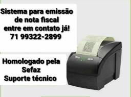 Sistema para emissão de nota fiscal