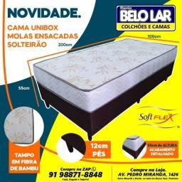 Unibox Solteirão Molas Ensacadas ,Compre no zap *
