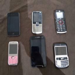 Lote celular usado