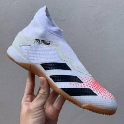 Chuteira futsal Adidas Predator 20.3 Laceless In