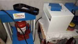 Máquina de fabricar sandália compacta print
