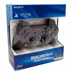 Controle Ps3 DualShock°3 sem fio (fazemos entrega)
