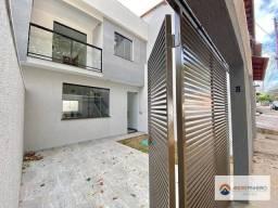 Título do anúncio: Casa entrada independente 03 quartos sendo 01 com suite à venda, 110 m² por R$ 450.000 - R
