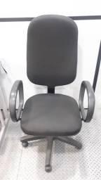 Cadeira Presidente para escritório, reclinável.