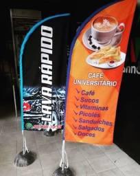 """""""Wind banner R$160 - 2 metros"""