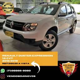 Renault Duster Expression 1.6 Cvt 2018 Jeferson *