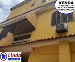 Casa de 3 quartos na Vila Tiradentes