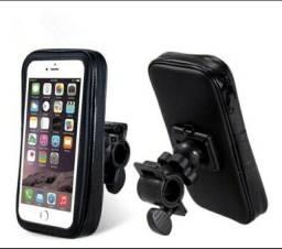 Suporte de celular para moto ou bicicleta,