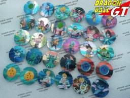Coleção Completa Dragon Ball GT (30 Tazos) da Guatemala