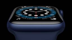 Apple Watch Série 6 azul 40MM Novo 1 ano de garantia
