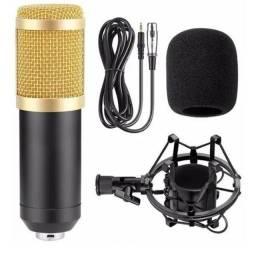 Microfone Condensador BM 800 Estudio Gravaçao Youtubers - Bm800