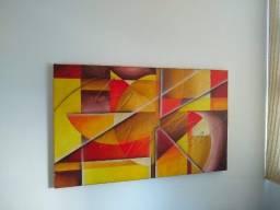 Quadro Decorativo Mosaico