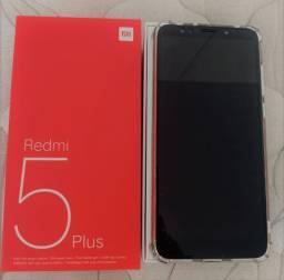 Celular Redmi 5 plus - vendo ou troco