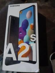 Caixa do samsung A21
