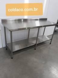 Mesas sob medida cozinha industrial