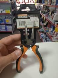 Alicate de Bico em Aço Carbono Cabo PVC