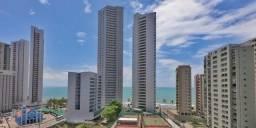 Título do anúncio: Apartamento com 3 quartos para alugar, 116 m² por R$ 3.440/mês com taxas- Boa Viagem - Rec