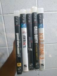 Call of Duty e +4 jogos de PS3