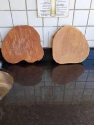 Tábua  de madeira para decoração