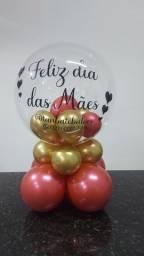 Balão Bublle Base Baixa Personalizado
