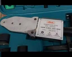 Conjunto de tarraxas para tubos metálico e Termofusor para soldar tubos PPR
