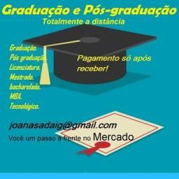 Adquira já sua Graduação EAD - Sem pagar antecipado