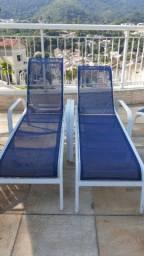 Telas sling costuradas e reformas de mobiliário de piscina