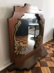 Espelho e Aparador Rústico
