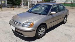 Honda Civic LX 1.7 2001 em Ótimo Estado de Conservação com 04 Pneus Novos !