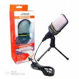 transmita audio pelo computador com esse lindo microfone condensador